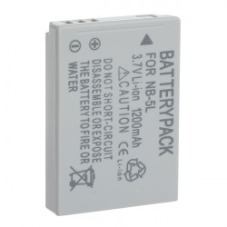 Canon NB-5L Rechargeable 1200mAh 3.7V Li-ion Protected Battery