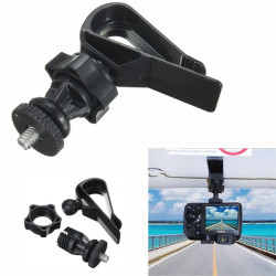 Car Visor SunShade Board Mount Holder Tripod Adapter For Gopro 1 2 33 Plus