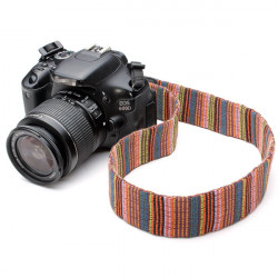 Color Neck Shoulder Strap For DSLR Nikon Canon Panasonic Sony Pentax Camera