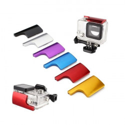 Colorful CNC Aluminum Lock Buckle For GoPro Hero 3+ Protective Housing Case