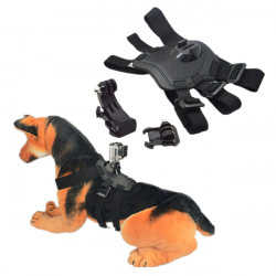 Cool Hund Hent Hound Harness Brystbælte Belt Mount for GoPro Hero 4 3 Plus 3 Kamera
