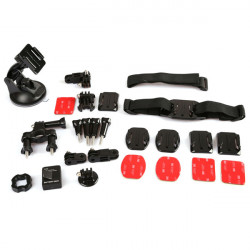 Dazzne 11IN1 KT-105 Kit Bicycle Handlebar Mount Suit For GoPro Hero 2 3 3+ Camera