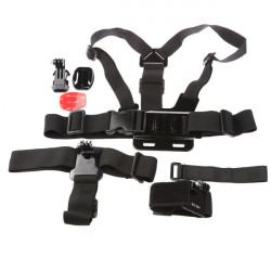 Dazzne 5in1 KT-111 Suit Tilbehør Brug Apparel Assembly for Gopro Hero 1 2 3 3+