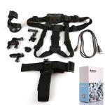 Dazzne 6IN1 KT 104 Kit Fahrradlenkerhalterung Anzug für GoPro Hero 3 + / 3 Foto & Kamerazubehör
