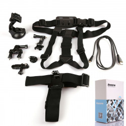 Dazzne 6in1 KT-104 Kit Cykelstyr Mount Suit for Gopro Hero 3 + / 3