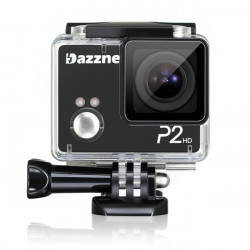 Dazzne P2 Waterproof Action Sports Mini Camera 2.0 Inch TFT Screen HD 1080P HDMI HD Output Support SD Card