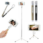 Dispho Bluetooth Remote Monopod Stativ Selfie Stick för iPhone Samsung Smart Phone Foto & Video