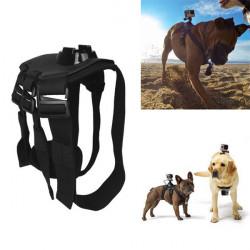 Dog Harness Chest Mount Fetch Belt Strap For GoPro Hero 4 3+ 3 2