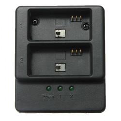 Dual 2 Batteri USB Oplader til Gopro 3/3 + AHDBT-201/301