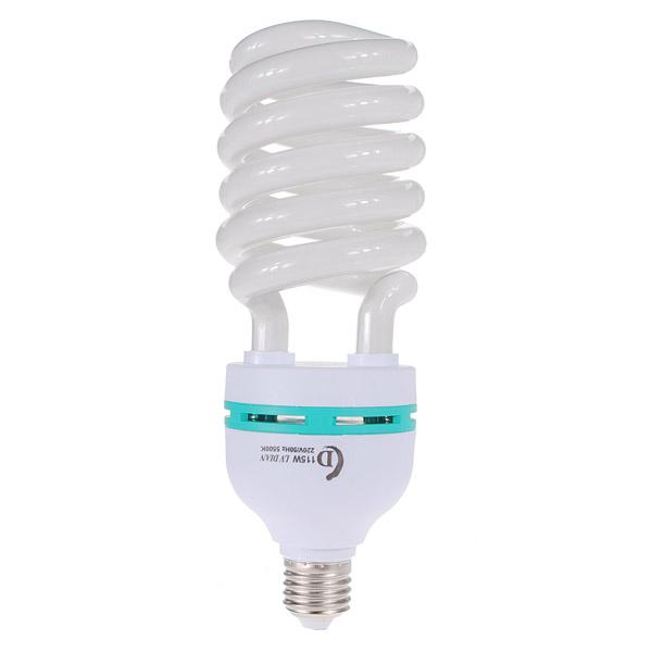E27 5500K 45 50W Photo Video Daylight Lightinag Studio Lampe Pære Foto & Video