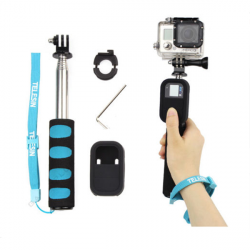 Extendable Selfie Monopod Remote Pole Handheld Grip For GoPro Camera Hero 2 3 3+