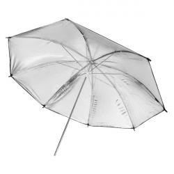 FOTGA 33 Inch 83cm Photo Studio Flash Light Reflector Reflective Black Sliver Umbrella