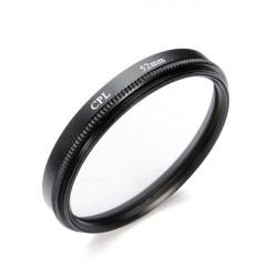 Fotga 52mm Zirkularpolfilter CPL Filter Objektiv für Canon Nikon Sony Olympus Kamera