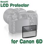 Fotga Premium LCD-Skärm Panel Skärmskydd Glas för Canon EOS 6D Foto & Video