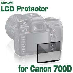 Fotga Premium LCD-skærm Panel Beskyttelse Glas til Canon EOS 700D