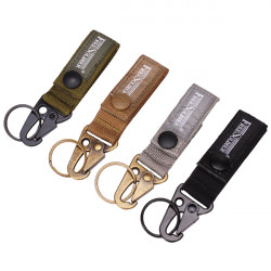 FreeSoldier Keychain Quick Release Oscillating Shackle Cordura Fabric Belt