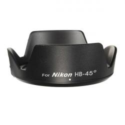 HB-45 II Bayonet Lens Hood For Nikon AF-S DX NIKKOR 18-55mm F/3.5-5.6G VR