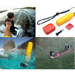 Håndholdt Bobber Monopod Og Floating Mount Og 3M Selvklæbende Og Skru for Gopro