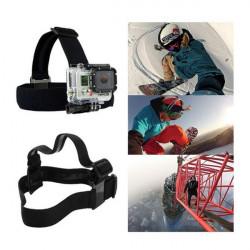 Head Strap Mount Belt Elastic Headband For GoPro Hero 1/2/3/3+ Camera