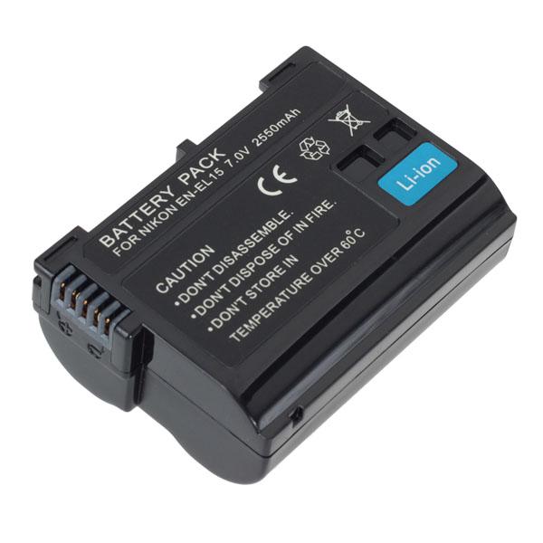 Hight Capacity 7.0V ENEL15 Full Decoding Battery For Nikon Photography & Camera Acc