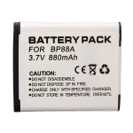 Hight Capacity BP88A 3.7V 700MAH Li-ion Battery For Samsung Photography & Camera Acc