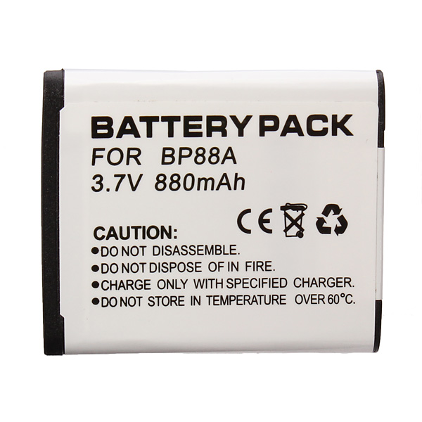 Hight Capacity BP88A 3.7V 700MAH Li-ion Battery For Samsung Photography & Camera Acc
