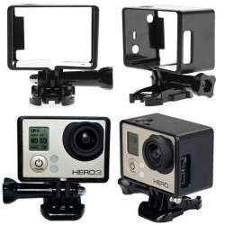LCD Screen Border Marco Frame Mount Protective Housing Case For Gopro Hero 3 3+ 4
