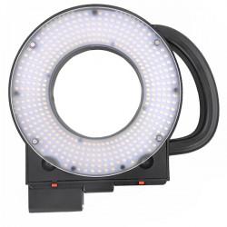 LED411A LED Studio Video Camera Ring Light Lamp 11000lux