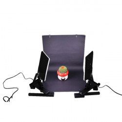 LED Fotographische Beleuchtung 2 Sets CN T96 bewegliche LED Videoleuchte