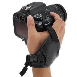 Læder Håndledsrem Grip for Nikon Canon Pentax DC8