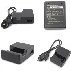 MH-23 Battery Charger With Cord For Nikon EN-EL9A D8000 D40 D60 D3000 D5000