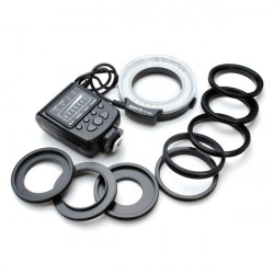Meike FC-100 Macro Ring Blixt för Nikon Canon Fuji DSLR Kamera