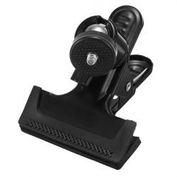 Metal Mini Tripod Ball Head Car Clamp For Camera Flash Photo Studio
