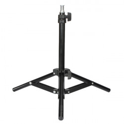 Mini 50cm Aluminum Collapsible Light Flash Photography Stand