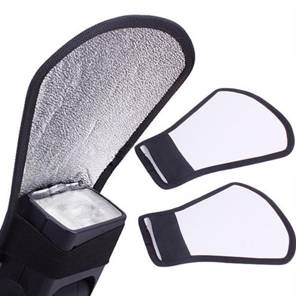 Mini Flash Diffuser Softbox Silver/White Reflector Photography & Camera Acc