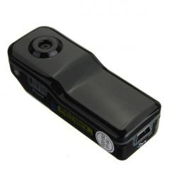Mini WiFi Web Kamera Trådløs IP MD81S Aftagelig Card Sort