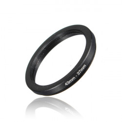 Ny 43-37mm Metal Step Down Lens Filter Ring Stepping Adapter