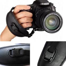PU E2 Kamera Handledsrem Hand Grip för Canon SLR / DSLR