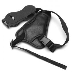 PU Leder Kamera Handschlaufe Handgriffe für Canon Sony Nikon Olympus