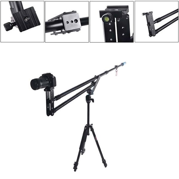 Bärbar SuteFoto SF-1 DSLR Mini Kamera Kranbommar Arm 6kg Förlängnings Foto & Video