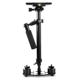 Pro S60 Plus Taschen Stabilizer Steadicam Für Camcorder Kamera Video DV DSLR Schwarz