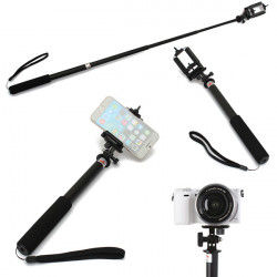 S168L Selfie Stick Monopod Handheld Telescopic For Smart Phone GoPro Sport Camera