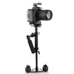S40 Pro Handheld Stabilizer Steadicam For Camcorder Camera Video DV DSLR Black
