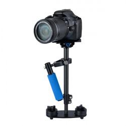 SF-04 Carbon Fiber Håndholdt Stabilizer Steadicam med Bag for Videokamera Kamera Video DV DSLR