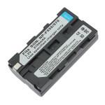 SON NP-F550 / 570 Laddningsbara 2100mAh 7.2V Li-ion Skyddad Batteri