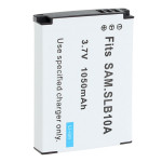 Samsung SLB10A 3.7V 1050mAh Li-ion Protected Rechargeable Battery Photography & Camera Acc