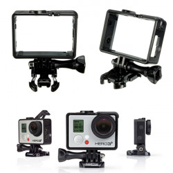 Standard Frame Mount Protective Housing And UV Protector For HD Gopro Hero 3 4 3 Plus