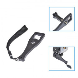 Tighten Knob Bolt Nut Screw Wrench Spanner Tool With Safety Rope For Gopro 4 3 Plus