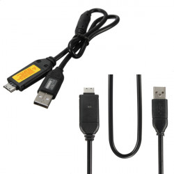USB 2.0 Data Charger Cable Cord For Samsung Camera ST61 ST65 ST70 PL120