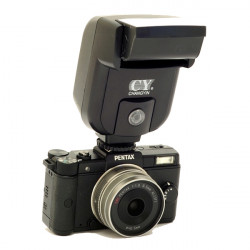 Yinyan CY-20 Mini Universal Blixt Speedlite Blixtsko Sync Port för DSLR Kamera